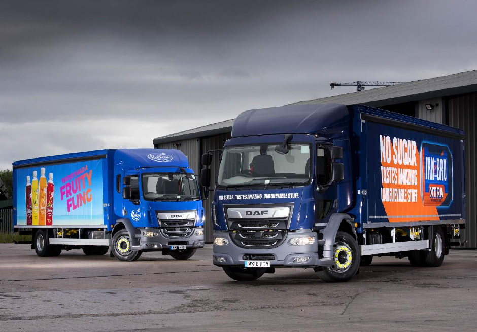 AG Barr takes first ever DAF products in planned fleet renewal