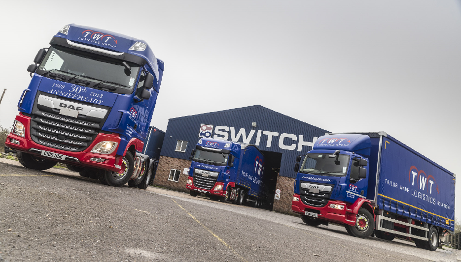 Switch turns on with DAF
