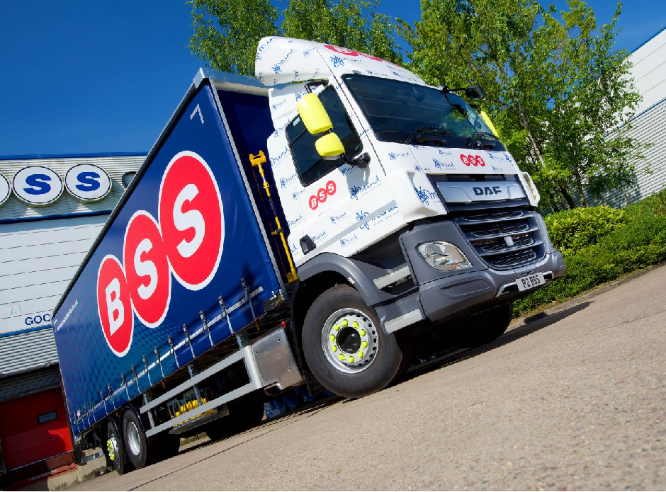 DAF Trucks' New CF rear-steer for BSS keeps charity in Mind