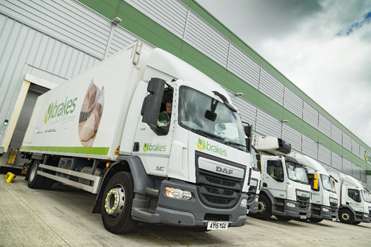 Brakes sees major NOX reduction with Shell GTL Fuel-powered DAF fleet