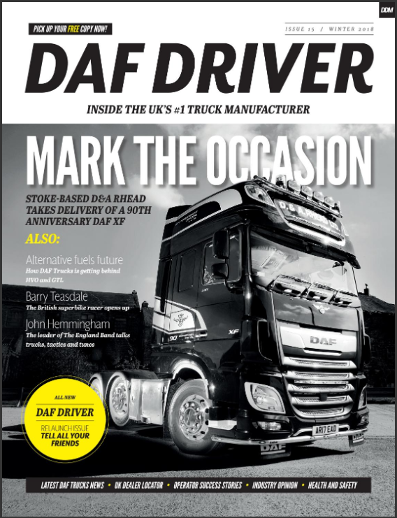 New, improved DAF Driver magazine hits the streets