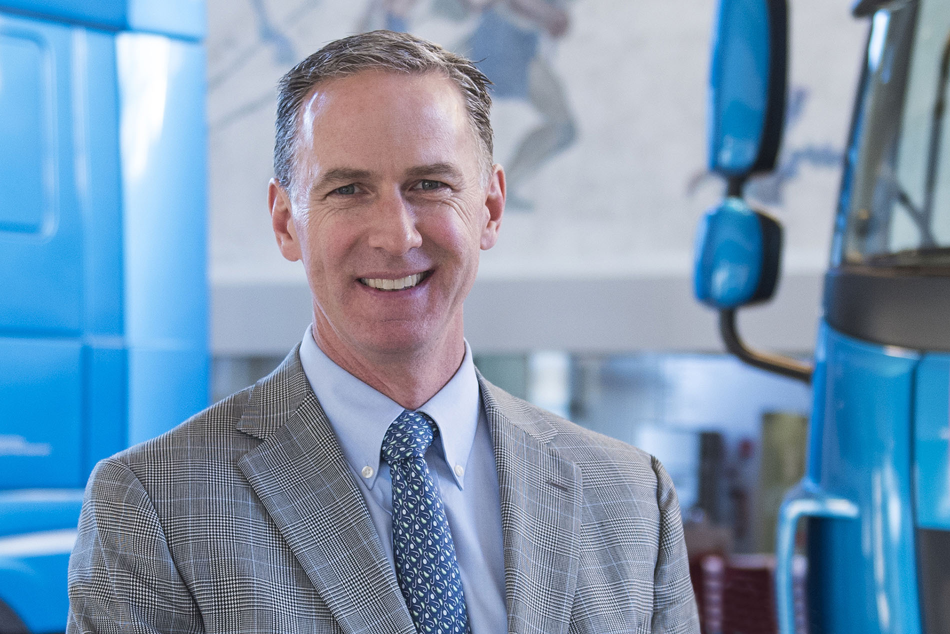 Preston Feight has been promoted to PACCAR Executive Vice President