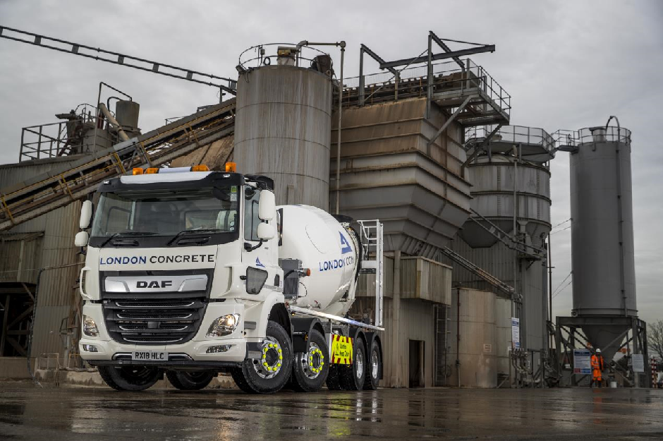 DAF London concrete