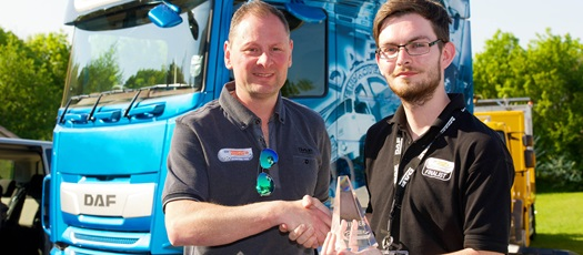 Scott Lewis Transport Efficiency Driver Champion
