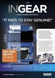 New Complete hub kit underlines why it pays to stay DAF genuine