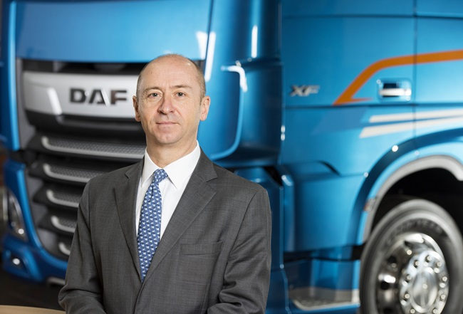 DAF Trucks Managing Director, Robin Easton