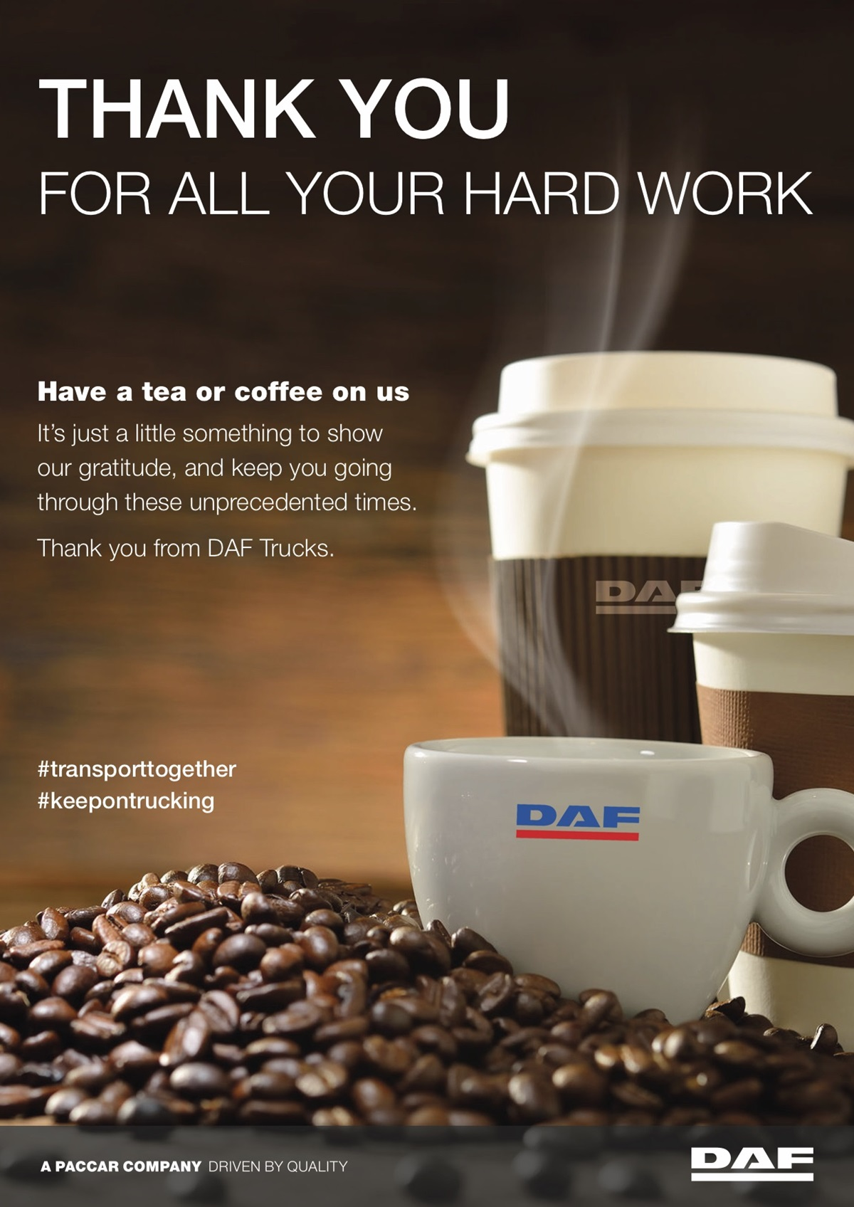 Free coffee poster