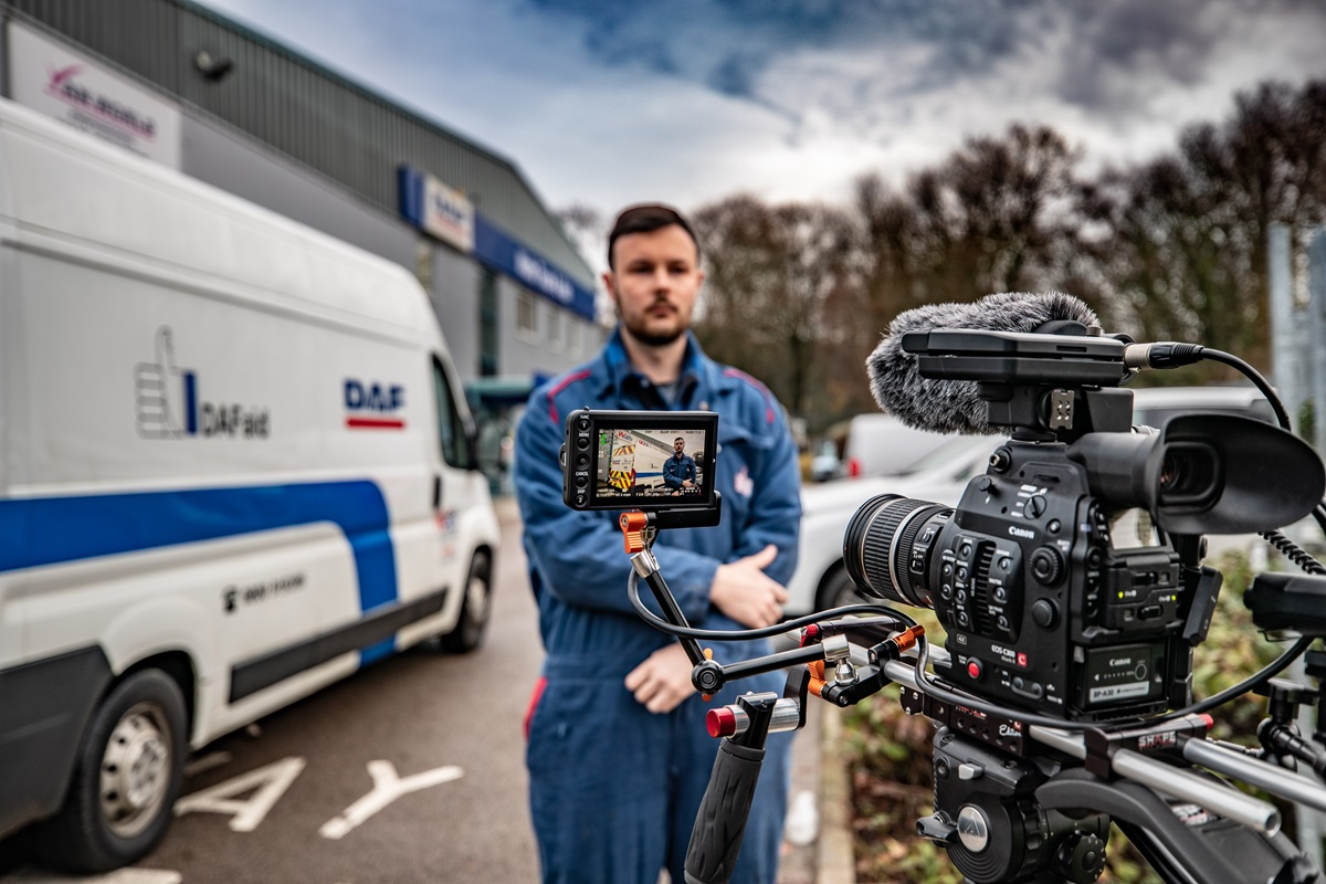 DAF Trucks releases day-in-the-life DAFaid video