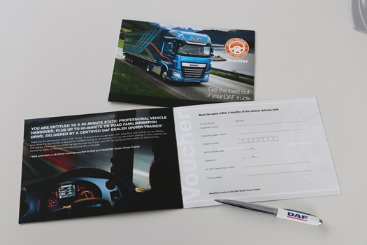 DAF Trucks delivers 'COVID compatible' driver training