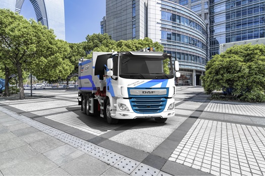 DAF CF Electric city