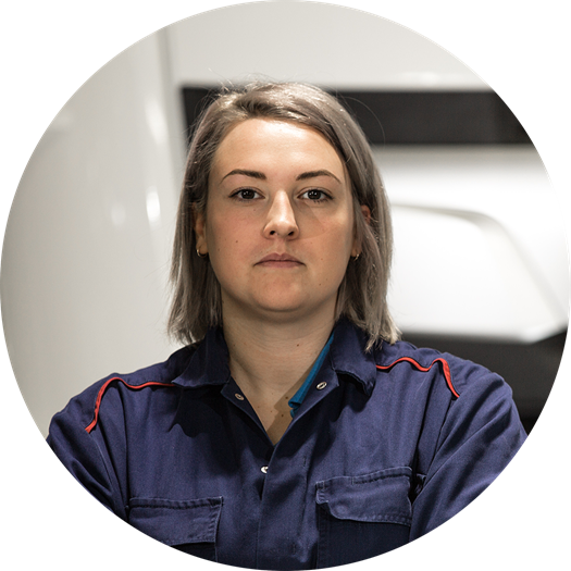 Chloe Bevins - Product and Skills Commercial Trainer, DAF Trucks