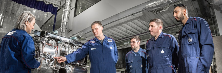 Training: becoming a DAF Master Technician