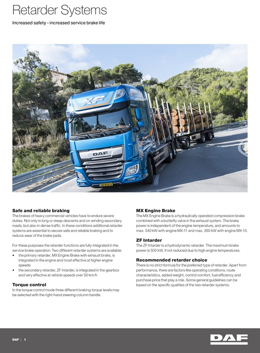 DAF-Retarder-Systems