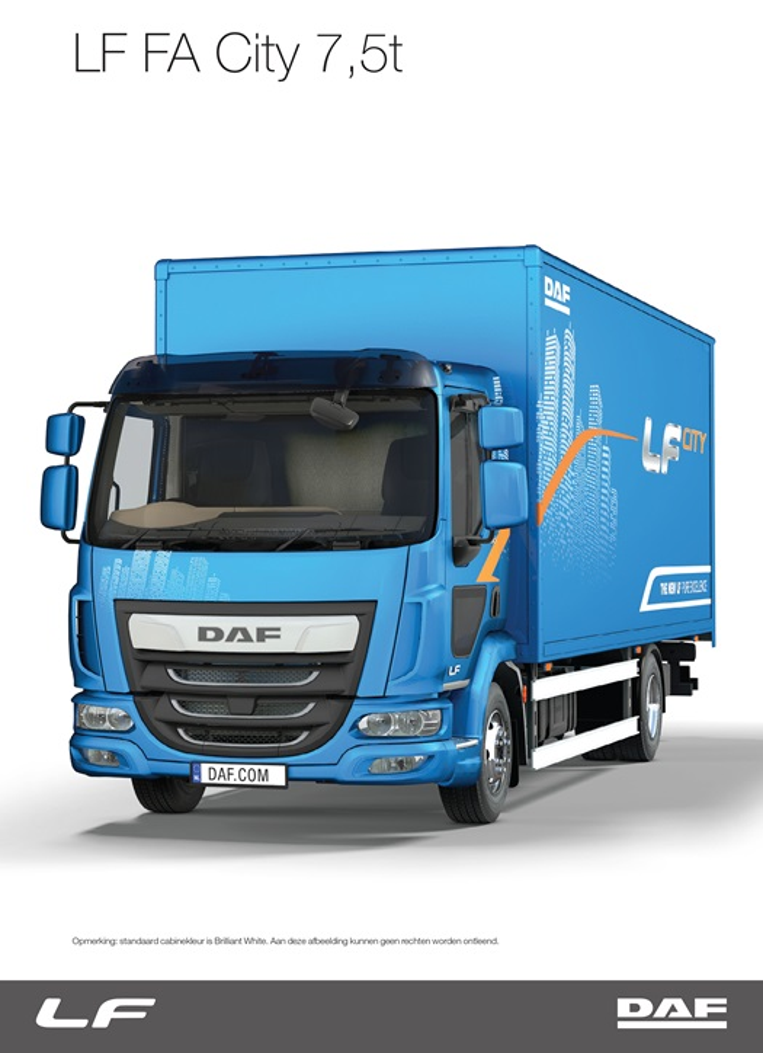 DAF LF- DAF Trucks Ltd, United Kingdom
