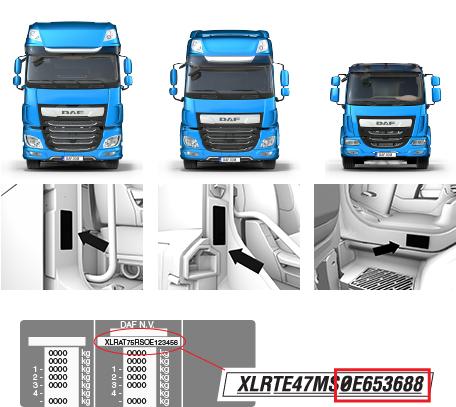 User manuals for DAF drivers- DAF Trucks Ltd, United Kingdom