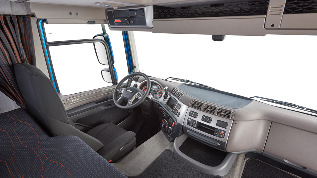 DAF CF Interior- DAF Trucks Ltd, United Kingdom