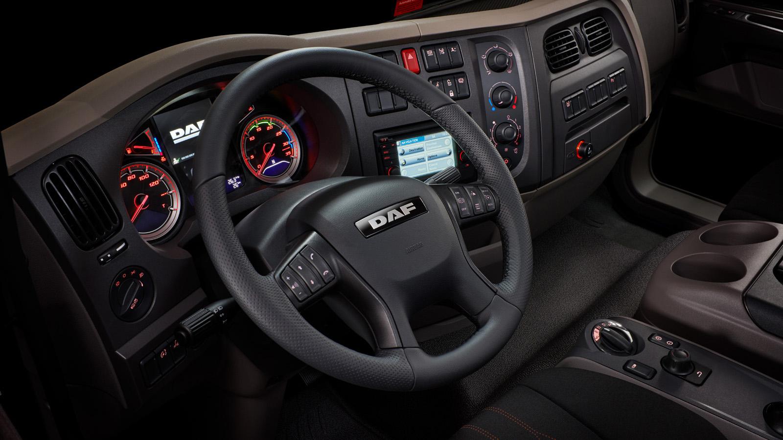 DAF LF Interior- DAF Trucks Ltd, United Kingdom