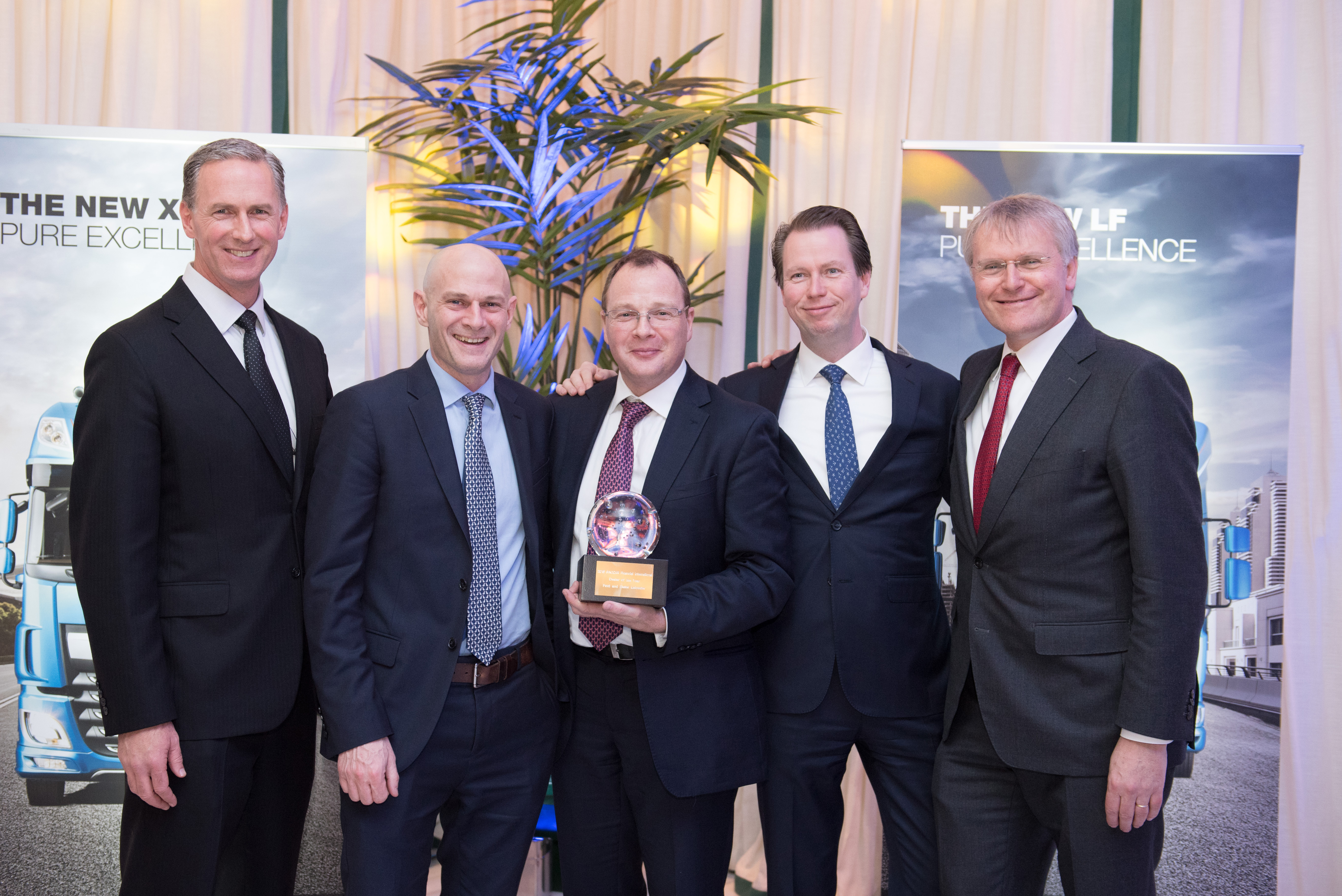 Ford Slater Ltd PACCAR Financial Europe International Dealer of the Year 2018