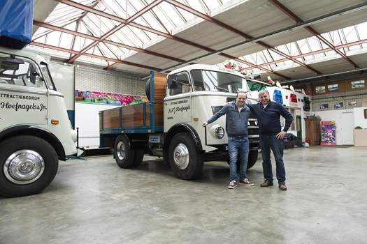 Oldest DAF truck still in commercial use - DAF A1600 from 1968