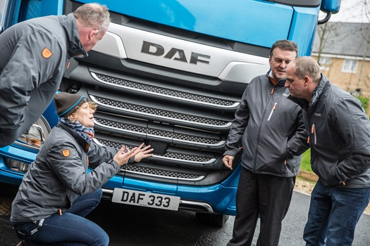 DAF Driver Academy Courses